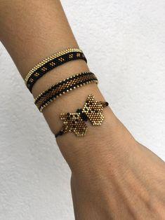 Excited to share the latest addition to my shop: Mİyuki beaded bracelet , butterfly bracelet set , unique gift for women , elegant and chic bracelets for women beadedbracelet Diy Jewelry Gifts, Handmade Bracelets, Craft Jewelry, Jewelry Storage, Jewelry Ideas, Silver Bracelets, Jewelry Bracelets, Bracelet Set, Beaded Bracelets