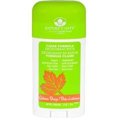 Natures Gate Deodorant Stick Clear Formula Autumn Breeze 2.5 oz