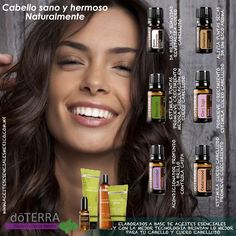 Cuidado Esencial del Cabello con #Aceites_esenciales #doTERRA Descarga más información en www.aceitesesencialesmexico.com.mx