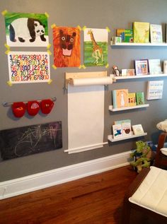 "Gender neutral nursery: Possible idea for ""Wall Art"""