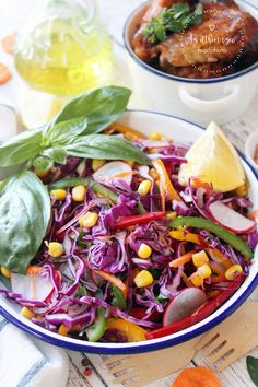 Az otthon ízei: Lilakáposzta saláta Cabbage, Vegetables, Food, Red Peppers, Essen, Cabbages, Vegetable Recipes, Meals, Yemek
