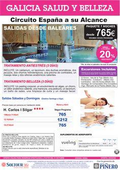 Galicia Salud y Belleza salidas desde Palma de Mallorca ultimo minuto - http://zocotours.com/galicia-salud-y-belleza-salidas-desde-palma-de-mallorca-ultimo-minuto/