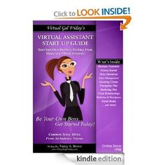 Virtual Gal Friday's Virtual Assistant Start Up Guide - for KINDLE