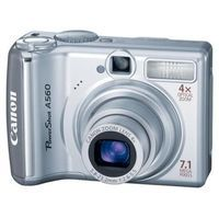 Canon Powershot A560 Digital Camera will give you beautiful snapshots and let you spread your photographic wings with night filters and ultra-closeups.