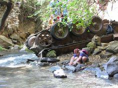 Путешествия по Земле Израиля - Баниас - прогулка вдоль реки