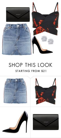 """Untitled #341"" by alexis1501 on Polyvore featuring Topshop, Balenciaga and Effy Jewelry"