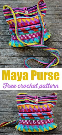 How To Crochet A Shell Stitch Purse Bag - Crochet Ideas Scrap Crochet, Boho Crochet, Modern Crochet, Purse Patterns Free, Bag Pattern Free, Sewing Patterns, Crochet Handbags, Crochet Purses, Crochet Bags