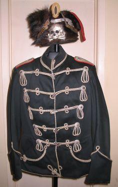 Prusia 1º Húsares Leib Totenkopf