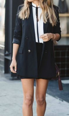 easy black and white holiday style