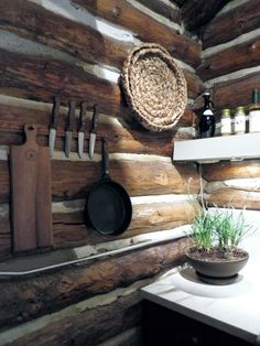 AMERICAN DREAM BUILDERS - CABIN - AFTER - DETAILS - Lukas's Kitchen: its all about keeping the authentic esthetics of the cabin with a modern twist, both work so well together. www.LukasMachnik.com #DreamBuilders #AmericanDreamBuilders #TeamRED #Cabin #NBC #NateBerkus #LukasMachnik
