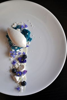 anise, sesame, chamomile, mascarpone, and blueberry. - The ChefsTalk Project