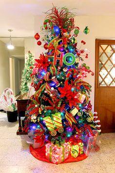 arbol de navidad colorido - Buscar con Google