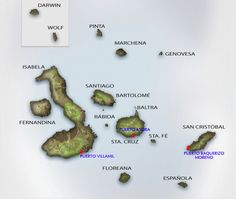 Share facts and info about the Galapagos Islands and Quasar Expeditions' Cruises with your friends