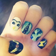 Expecto Patronum! Take your love for Harry Potter a step further! Bring out the nail polish!