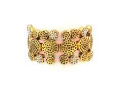 Leer roze armband van Lelou
