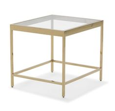 JULES 1 SHELF SIDE TABLE  <BR>[available online and in stores]