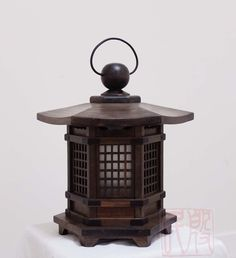 antique wood japanese lanterns - Google Search                                                                                                                                                                                 More