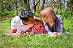 family photography with little girl