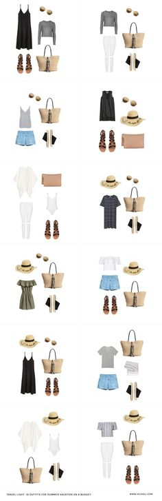 Summer Packing List on a Budget