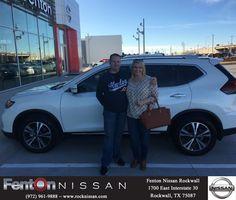 Congratulations Khrystal on your #Nissan #Rogue from Trevor Teape at Fenton Nissan of Rockwall!  https://deliverymaxx.com/DealerReviews.aspx?DealerCode=V432  #FentonNissanofRockwall