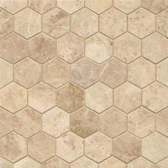 Cappuccino Marble Hexagon Mosaic Polished Tiles (Box of 10 Sheets) Cappuccino is a beautiful, classic marble from Turkey. This mosaic is a classic hexagon pattern mounted on a sheet suitable for a variety of installations (box of 10 sheets) Room Tiles, Bathroom Floor Tiles, Tile Floor, Shower Floor, Shower Tiles, Wall Tiles, Bath Shower, Beige Kitchen, Beige Bathroom