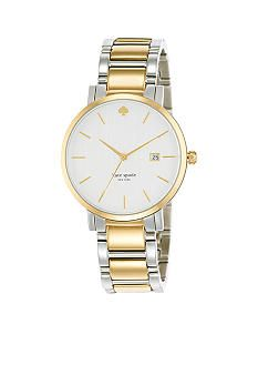 This is the perfect everyday watch. From BELK: Kate Spade new york - Large Two-Tone Gramercy Watch