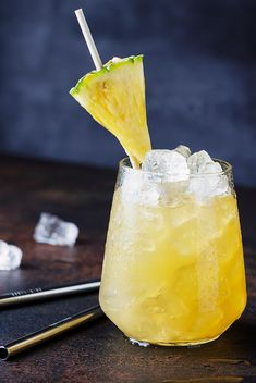 This drink will have you dreaming of warm sand and a tropical breeze. It's fruity, with a light herbal & spice undertone, we absolutely love this! Summer Cocktails, Breeze, Herbalism, Pineapple, Spices, Tropical, Warm, Drink, Herbal Medicine