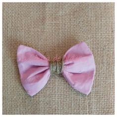 Horquillas lazo plumeti rosa