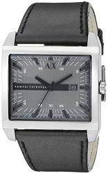 a470e67d8e71 Armani Exchange Men s AX2218 Analog Quartz Black Watch