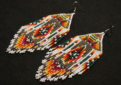 Aretes Huichol