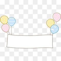 Balloon border PNG and Vector Balloon Toys, Balloons, Marco Polaroid, Stupid Pictures, Boarder Designs, Baby Shower Deco, Baby Icon, Birthday Wallpaper, Baby Frame