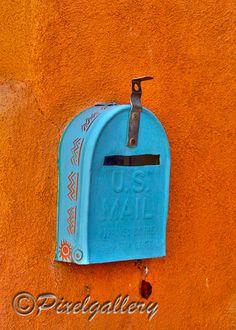Santa Fe, NM  Mailbox
