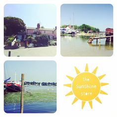 """27 Likes, 1 Comments - Neha (@the_sunshine_store) on Instagram: """"A glorious day at Pin Mill today with more sunshine arranged for you tomorrow! Our sunny terrace is…"""""""