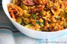 Chorizo, Chana Masala, Mozzarella, Food And Drink, Vegetables, Ethnic Recipes, Recipe, Essen, Vegetable Recipes