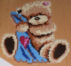 Hama Bügelperlen Teddy  von schnattchen