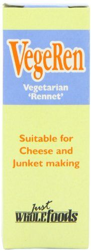 Just Wholefoods Vegeren Rennet 30 ml (Pack of 4) -   Just Wholefoods Vegeren Rennet 30 ml (Pack of 4)        Rating:    List Price: £5.56   Sale Price: £5.56 (as of 01/01/2014 20:55 UTC - Details)    Availability: Usually dispatched within 24 h... - #30, #4, #Just, #Ml, #Of, #Pack, #Rennet, #Vegeren, #Wholefoods  - http://wp.me/p2Sdif-50R