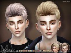 Sims 4 CC's - The Best: sclub ts4 hair Michael n26