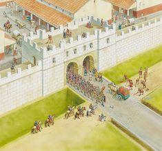Lunari city walls