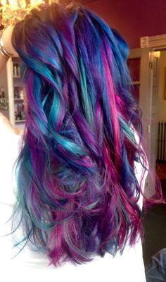 Manic Panic colors by Kasey O'Hara #hairbykaseyoh