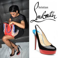 Christian Louboutin Bianca Slingbacks Black-Red [Slingbacks01] - $117.84 : Designershoes-shopping, World collection of Top Designer high heel UP TO 90% OFF!