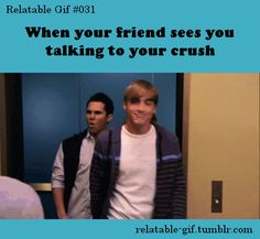 All the time my friends are so crazy just like Carlos