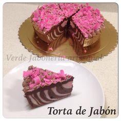 Torta de Jabon/cake soap Infusion de naranja y cacao Venezolano