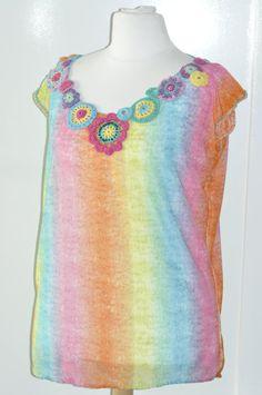 Zonnig zomers shirt voor zonnige hippe meiden door SillyBeanies
