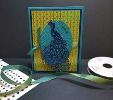 Proud Peacock by - Cards and Paper Crafts at Splitcoaststampers Peacock Photos, Stampin Up Catalog, Specialty Paper, Bird Cards, Pen And Paper, Stamping Up, Fun Projects, Birthday Cards, Card Making