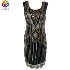 This item is HOT! Women 1920s Gatsb... click 2 order  http://i-saledresses.myshopify.com/products/women-1920s-gatsby-themed-party-dress-vintage-flapper-girl-sequined-beaded-back-deep-v-sleeveless-black-backless-summer-dress?utm_campaign=social_autopilot&utm_source=pin&utm_medium=pin   We Ship Internationally!