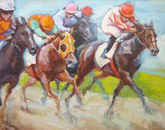 Renata Domagalska 'Horse Racing'