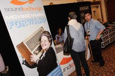 One of our great sponsors @SoundExchange #NMS2013