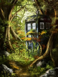 TARDIS by Jay-R-Took
