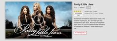 Pretty Little Liarsis now on Netflix! Oh happy day. Season 2 premieres on July 3rd Watch Tv Online, Pretty Little Liars, Happy Day, Season 2, Netflix, Photo And Video, Movie Posters, Pretty Litte Liars, Film Poster