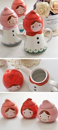 Red Riding Hood - tea set